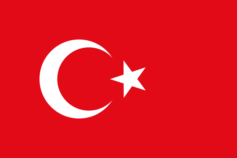 Illustration of a flag of Turkey : Free Stock Photo