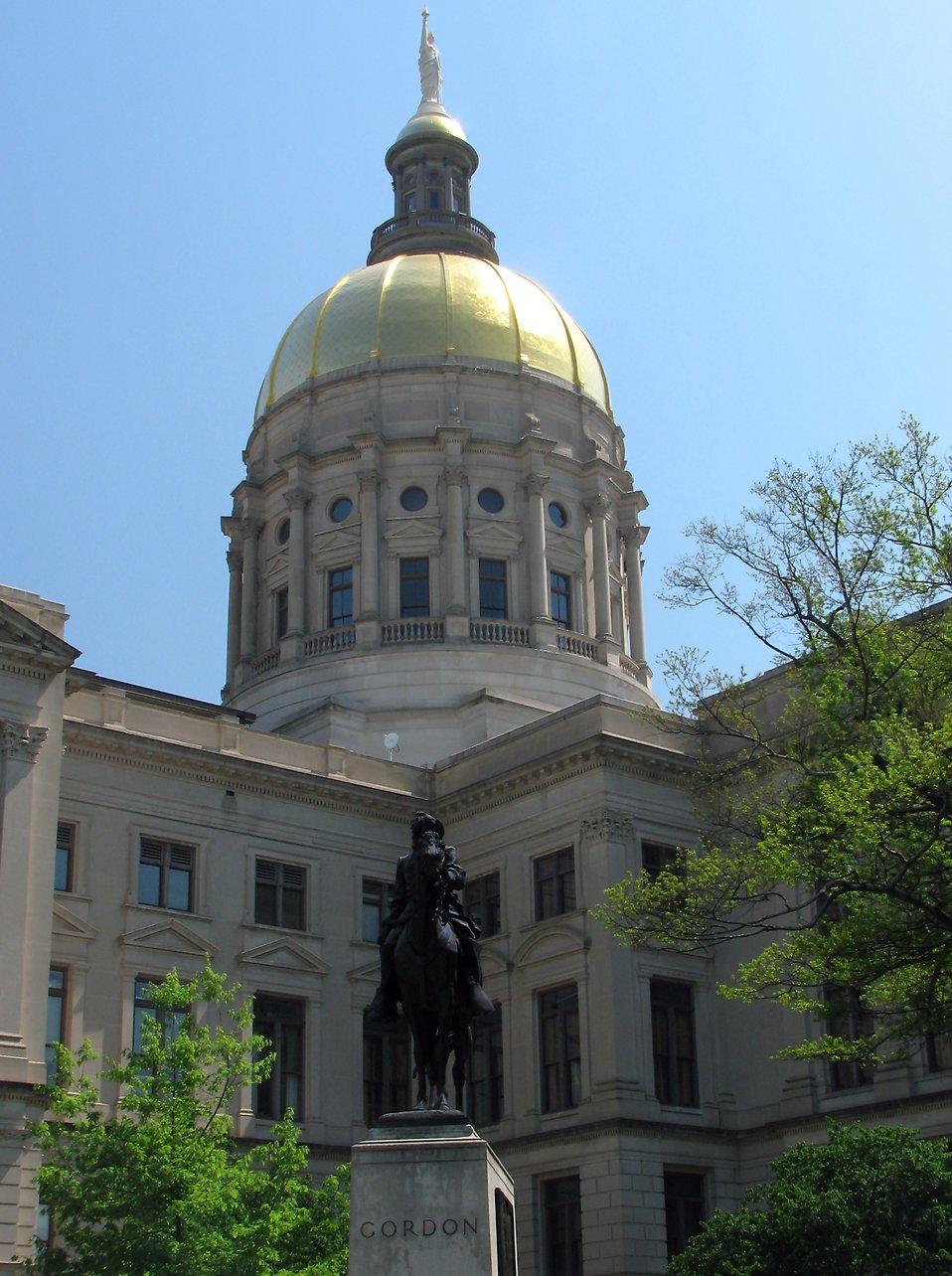The Georgia State Capitol building in Atlanta, Georgia : Free Stock Photo