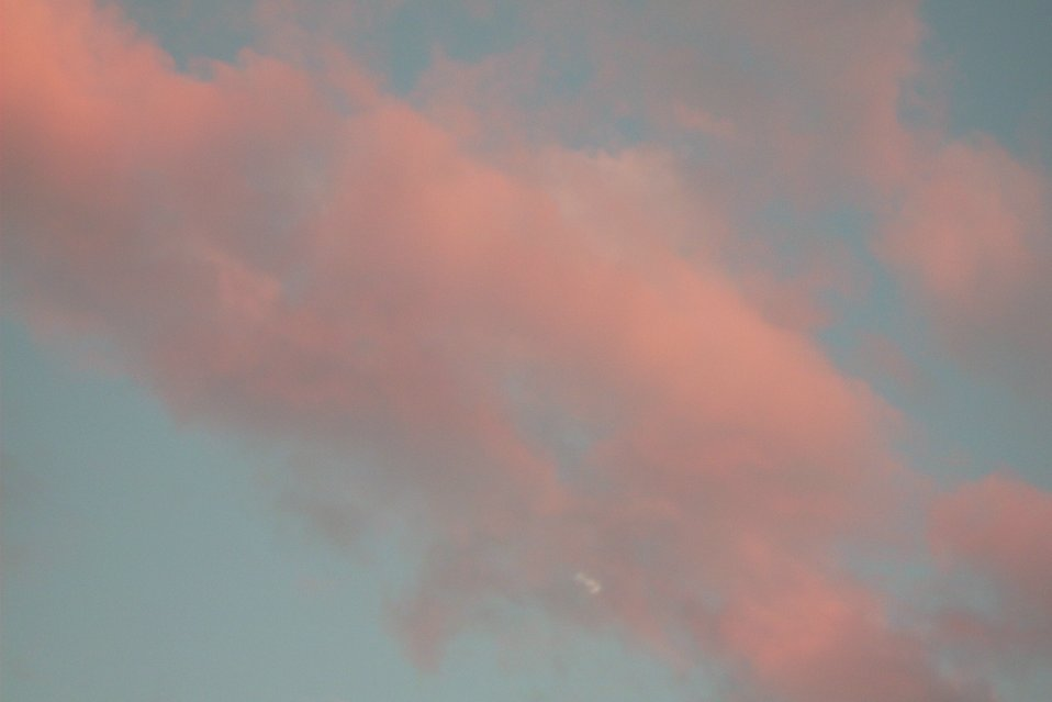 Pink clouds : Free Stock Photo
