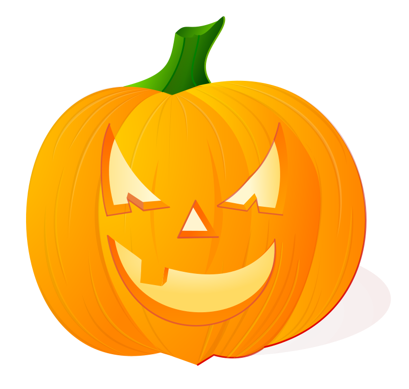 Illustration of a jack-o-lantern.
