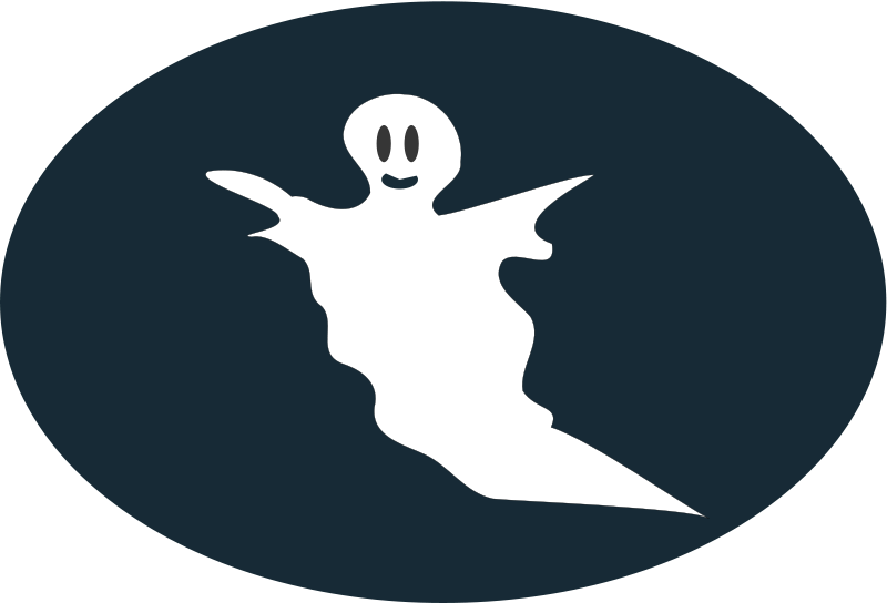 Illustration of a halloween ghost : Free Stock Photo