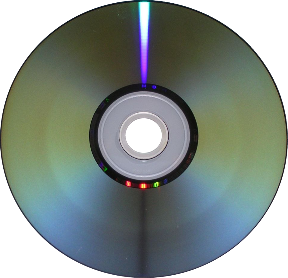 A DVD isolated on a white background : Free Stock Photo