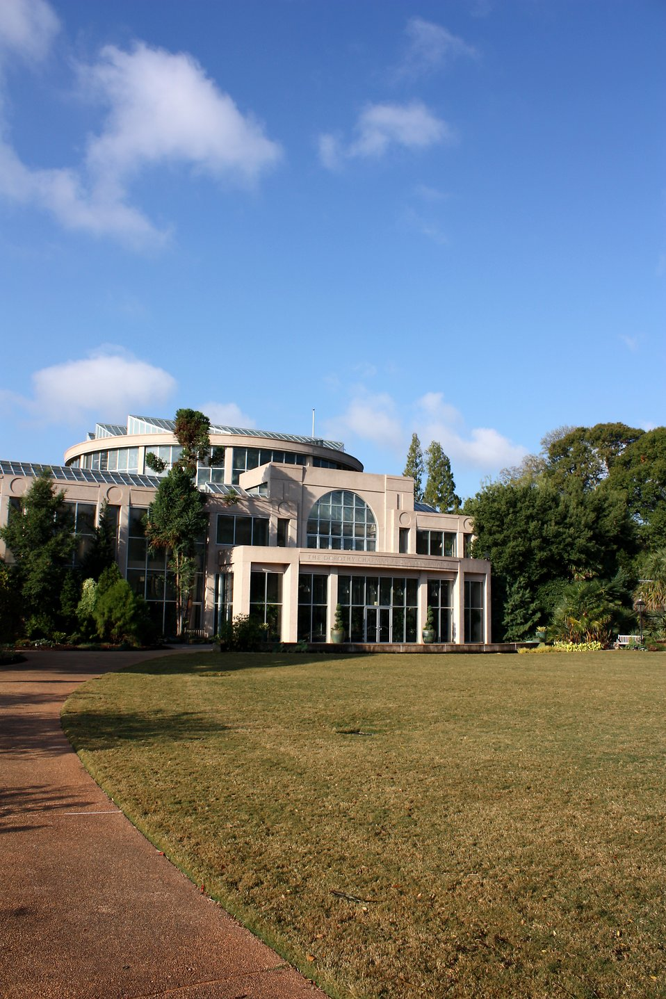 The Dorothy Chapman Fuqua Conservatory at the Atlanta Botanical Garden in Atlanta, Georgia : Free Stock Photo