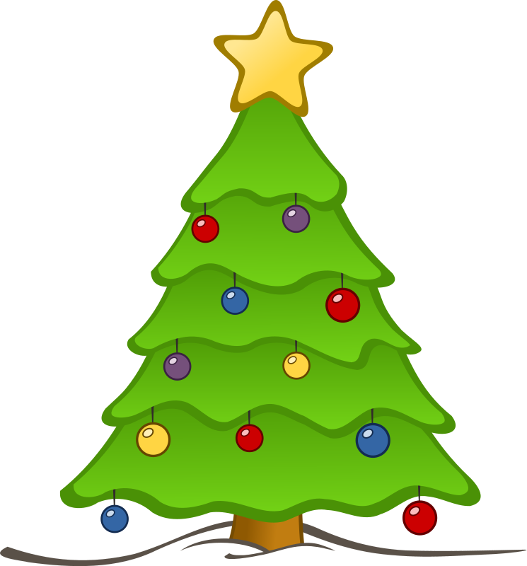 Christmas Tree | Free Stock Photo | Illustration of a ...