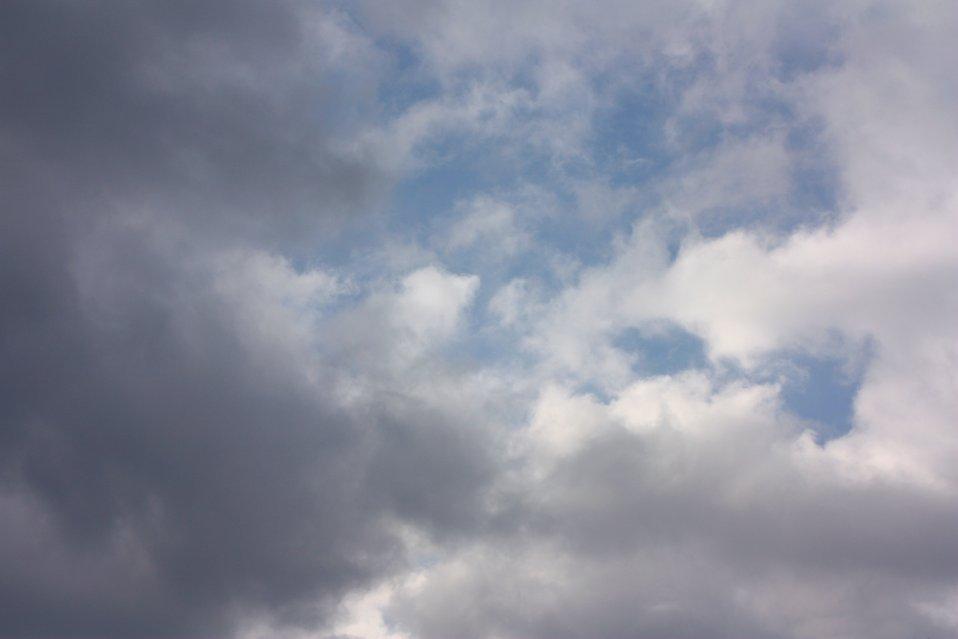 Dark stormy clouds : Free Stock Photo