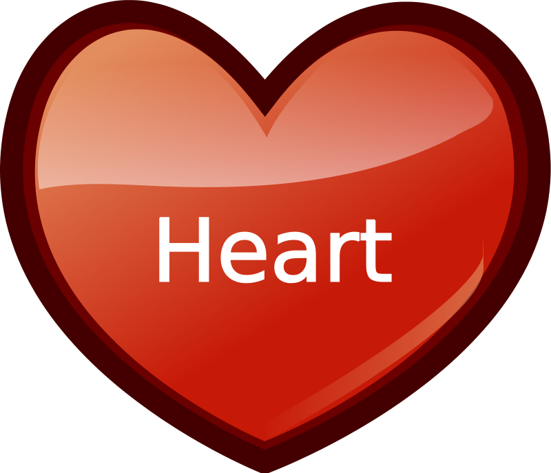 Heart | Free Stock Photo | Illustration of a red heart ...