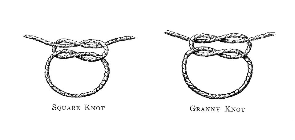Vintage illustration of knots : Free Stock Photo