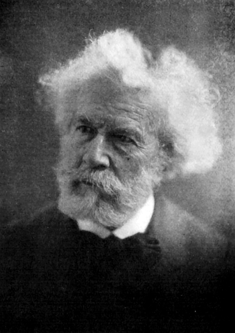 Vintage portrait of Professor Flammarion : Free Stock Photo