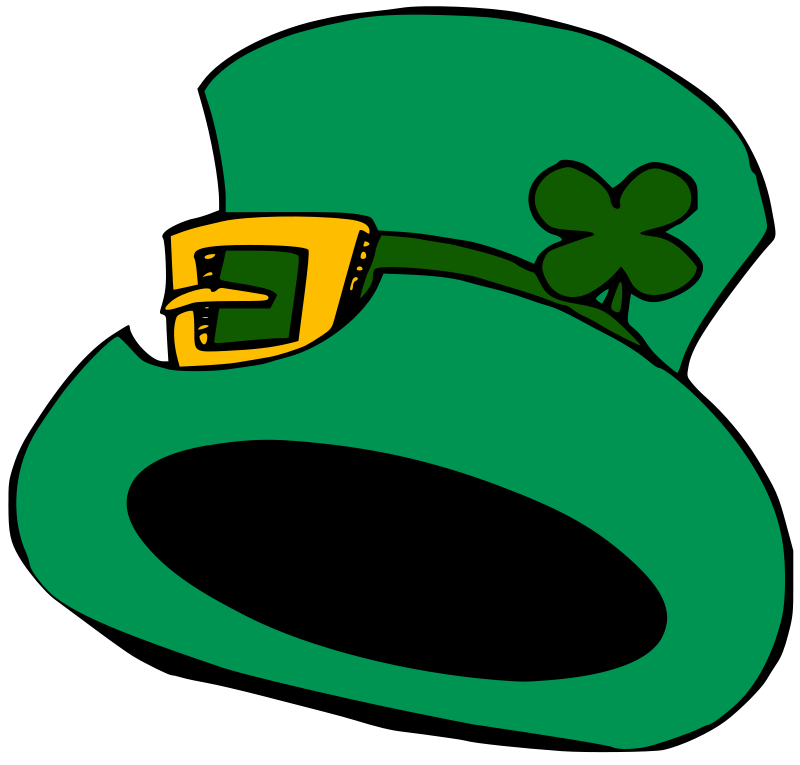 Illustration of a Saint Patrick's Day hat : Free Stock Photo