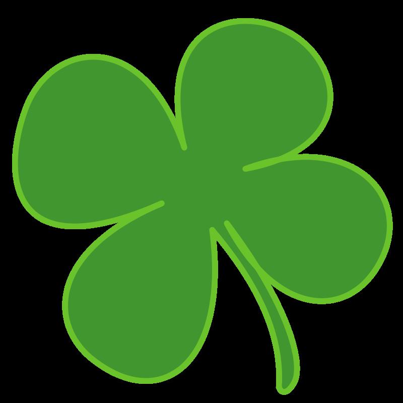 Four Leaf Clover | Free Stock Photo | Illustration of a four leaf ...