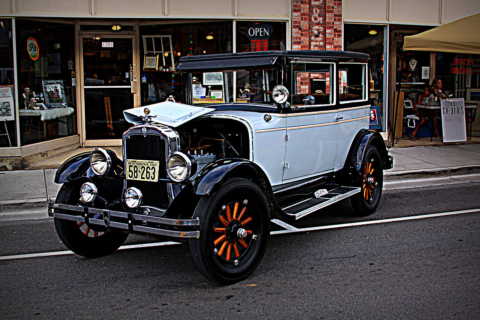 A Vintage 1927 Plymouth