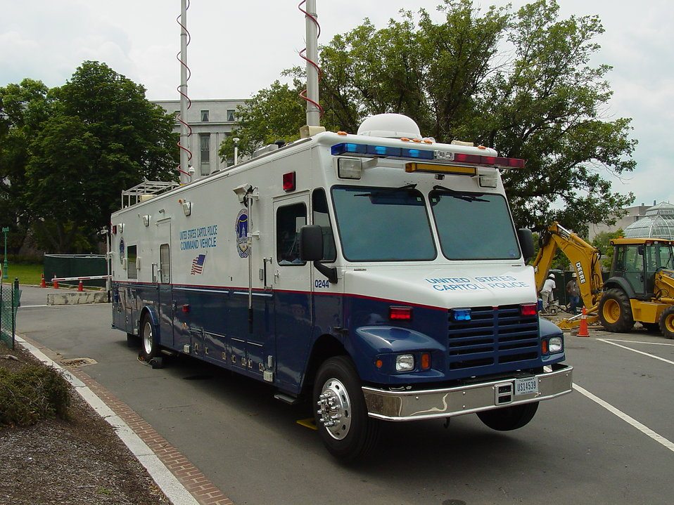 A police mobile unit of the United States Capitol Police : Free Stock Photo