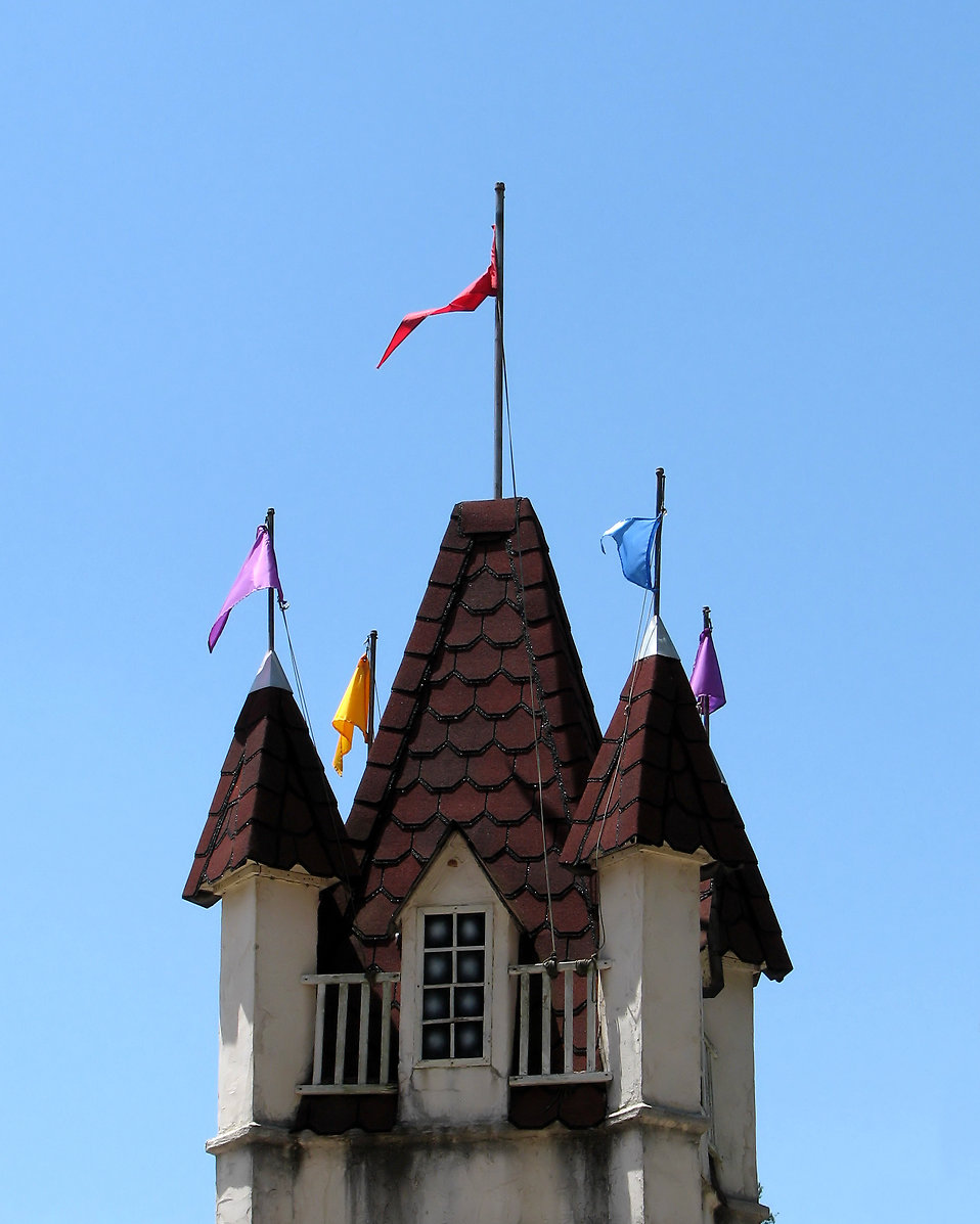 A medieval castle tower at the 2011 Georgia Renaissance Festival : Free Stock Photo