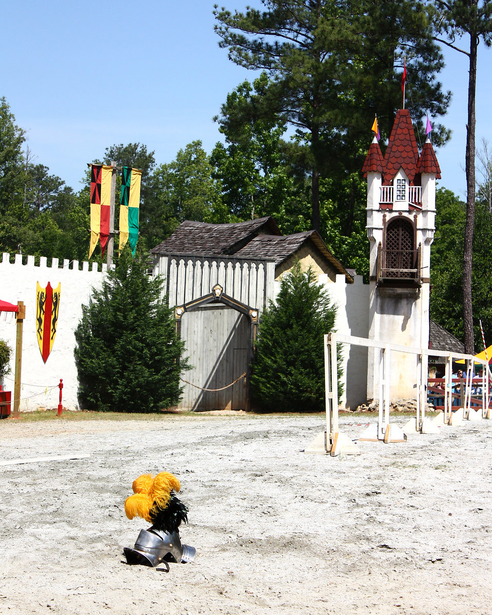 A jousting arena at the 2011 Georgia Renaissance Festival : Free Stock Photo