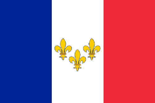 Illustration of a French Monarchist flag : Free Stock Photo