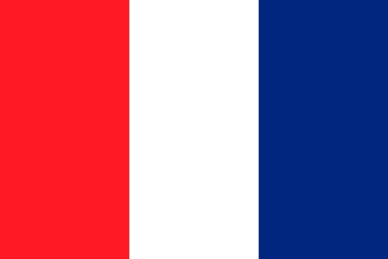 Illustration of a French flag from 1790-1794 : Free Stock Photo