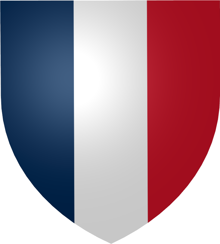 Illustration of a French Coat of Arms : Free Stock Photo