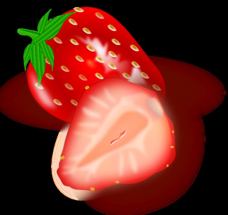 Illustration of strawberries : Free Stock Photo