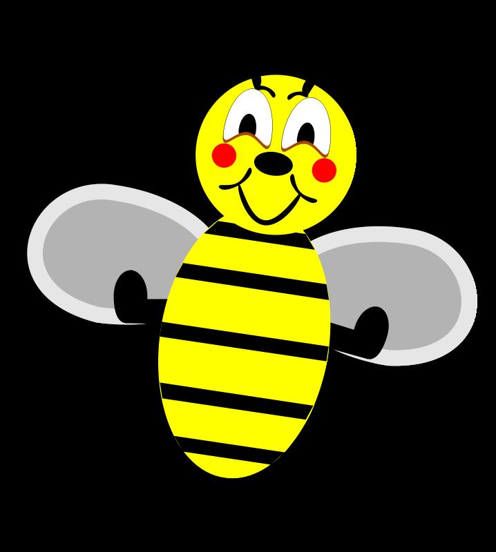 Illustration Of A Cartoon Bee