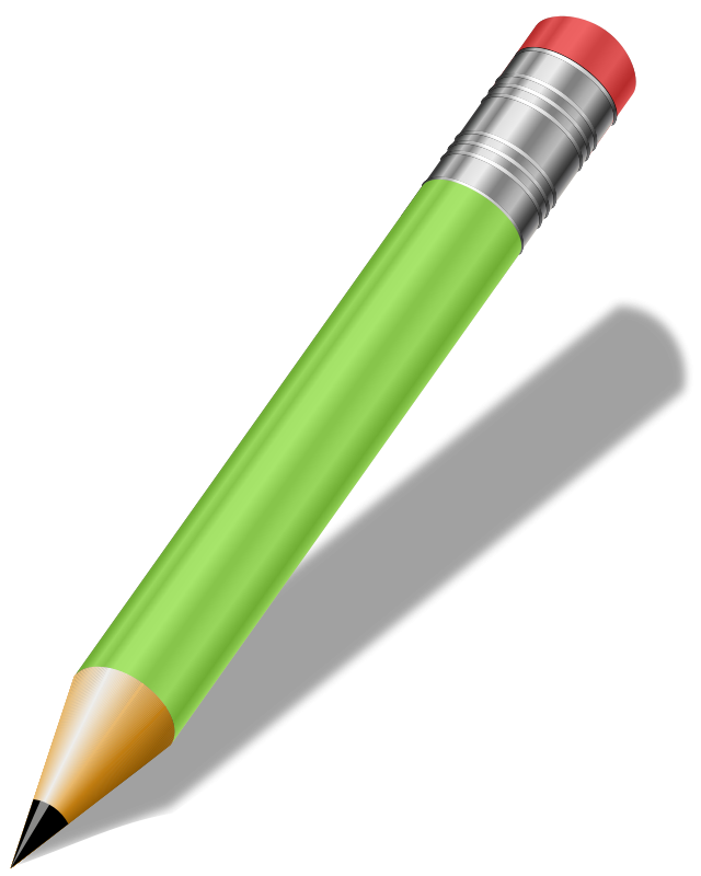 Illustration of a pencil.