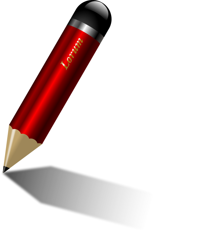Illustration of a pencil : Free Stock Photo