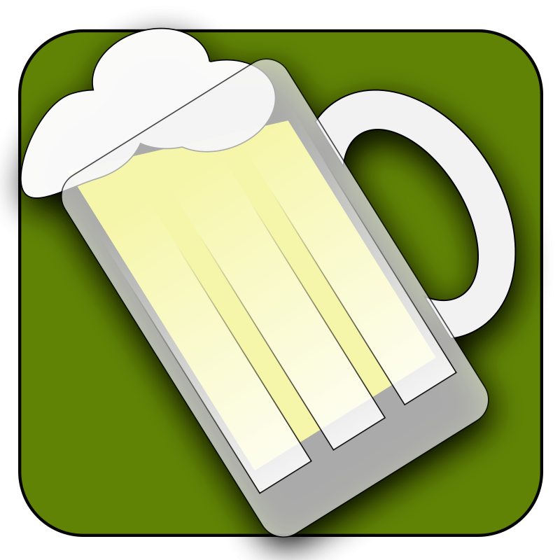 Illustration of a mug of beer : Free Stock Photo