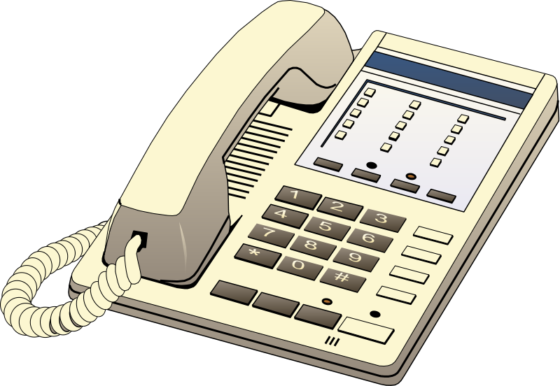 Illustration of a telephone : Free Stock Photo