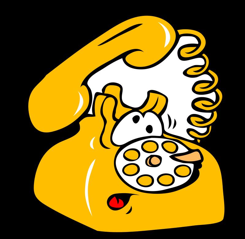 Illustration of a telephone : Free Stock Photo