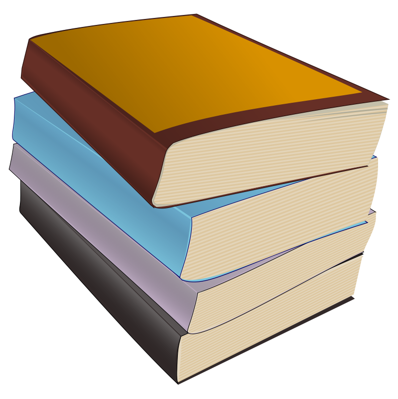 Illustration of books.