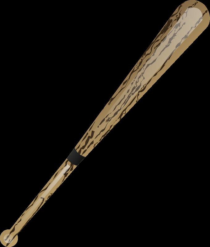 Illustration of a baseball bat : Free Stock Photo