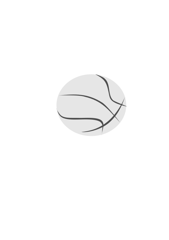 Illustration of a basketball : Free Stock Photo