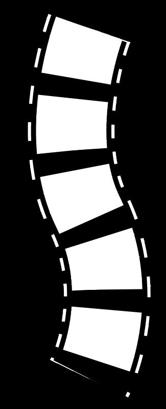 Illustration of a filmstrip : Free Stock Photo