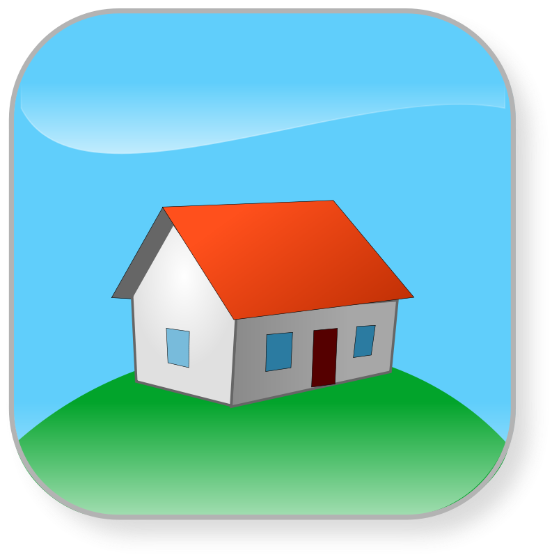 Illustration of a house : Free Stock Photo