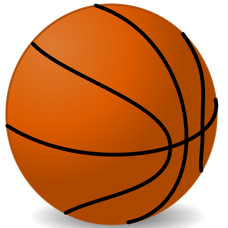 Illustration of a basketball.