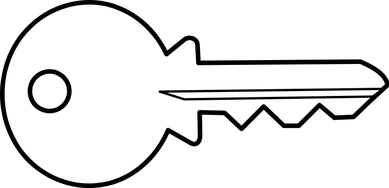 Illustration of a key : Free Stock Photo