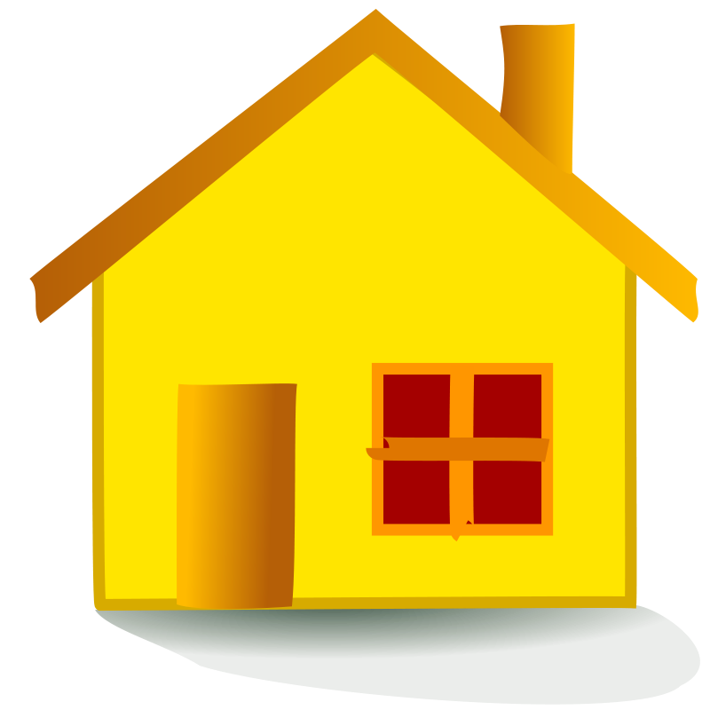 House | Free Stock Photo | Illustration of a house | # 14502 House Graphic Png