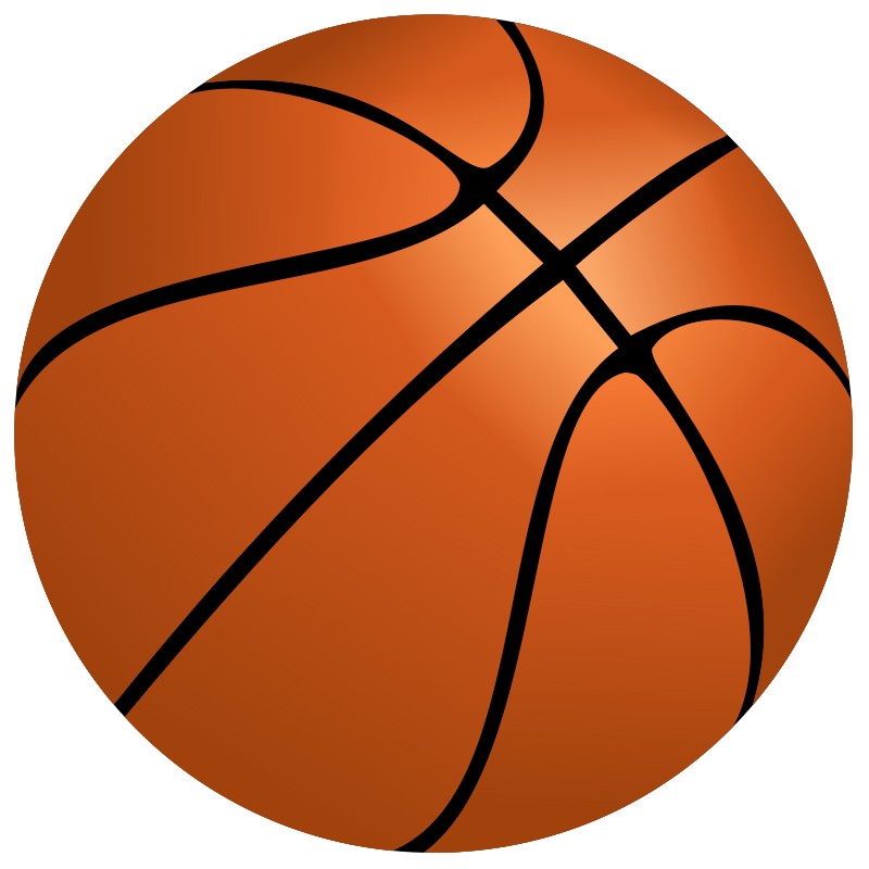 Illustration of a basketball : Free Stock Photo