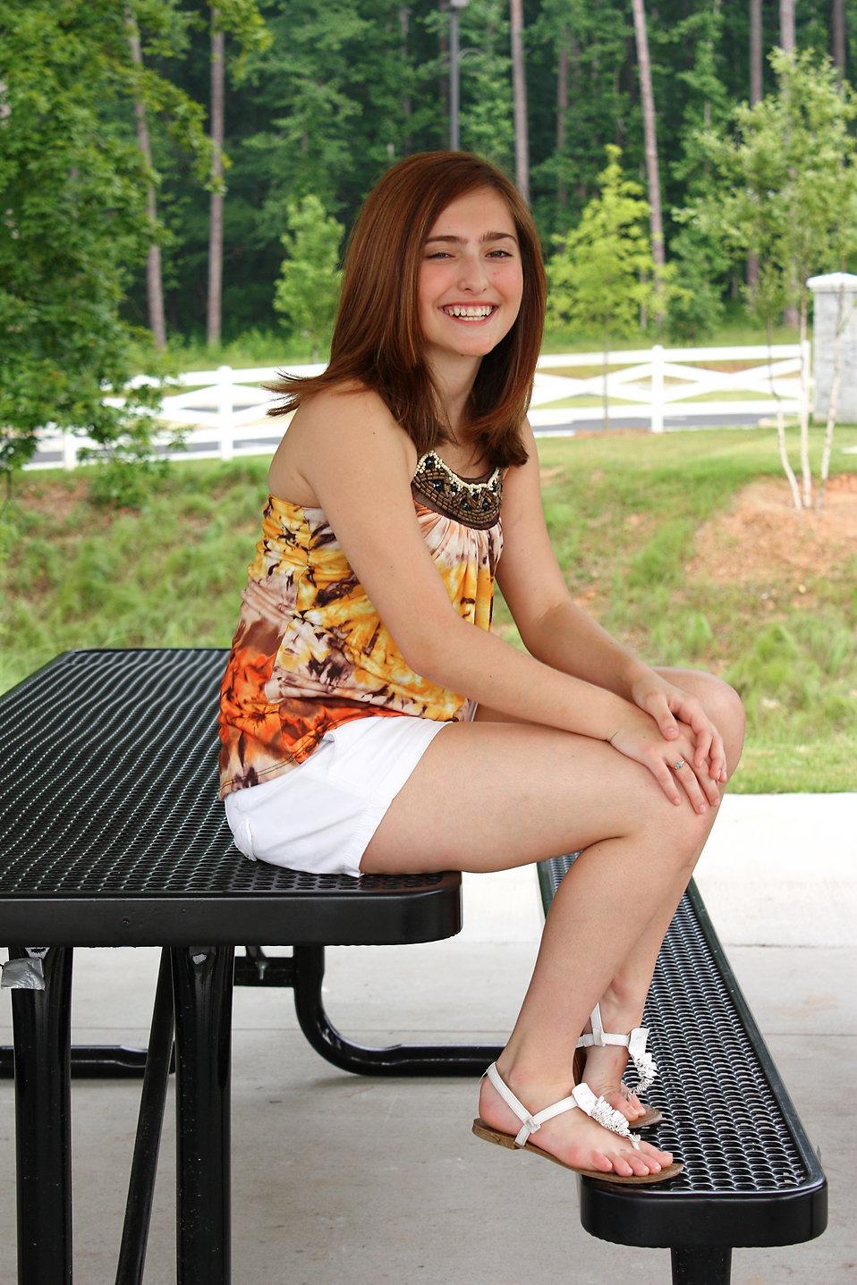 Girl Cute | Free Stock Photo | A cute young girl posing