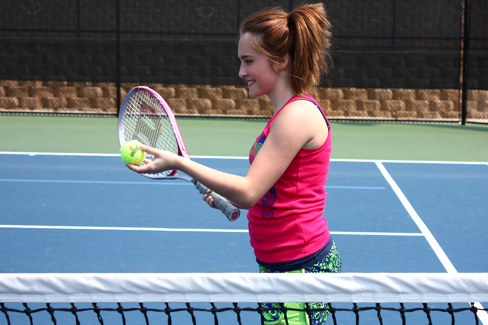 Tennis Girl Picture Girl Playing Tennis Free