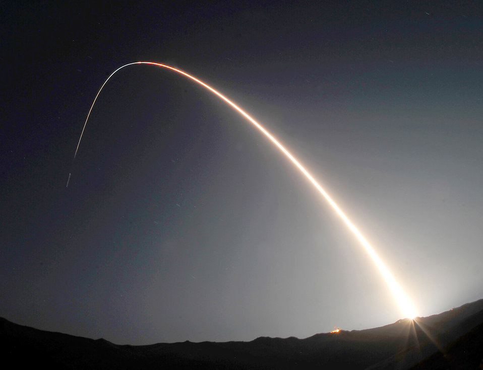 Launch of a Minotaur IV rocket : Free Stock Photo