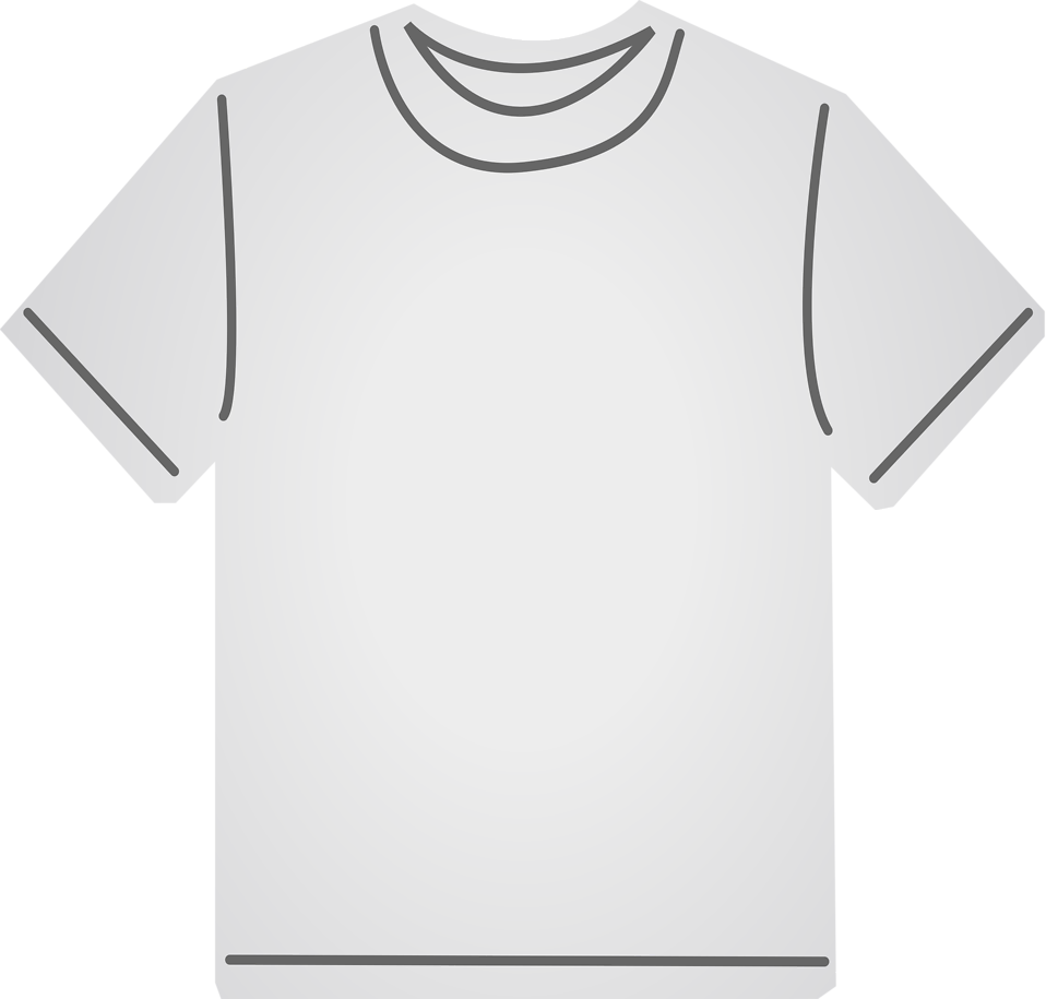 Illustration of a gray t-shirt : Free Stock Photo