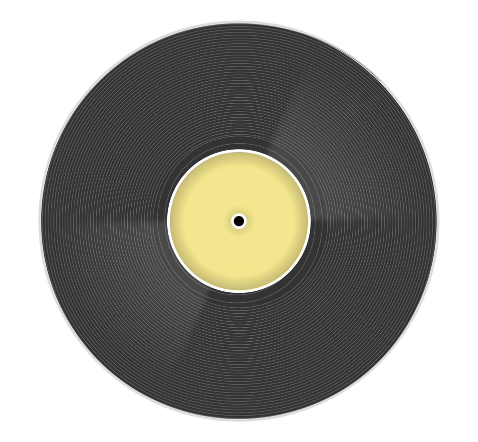 Illustration of a music record : Free Stock Photo