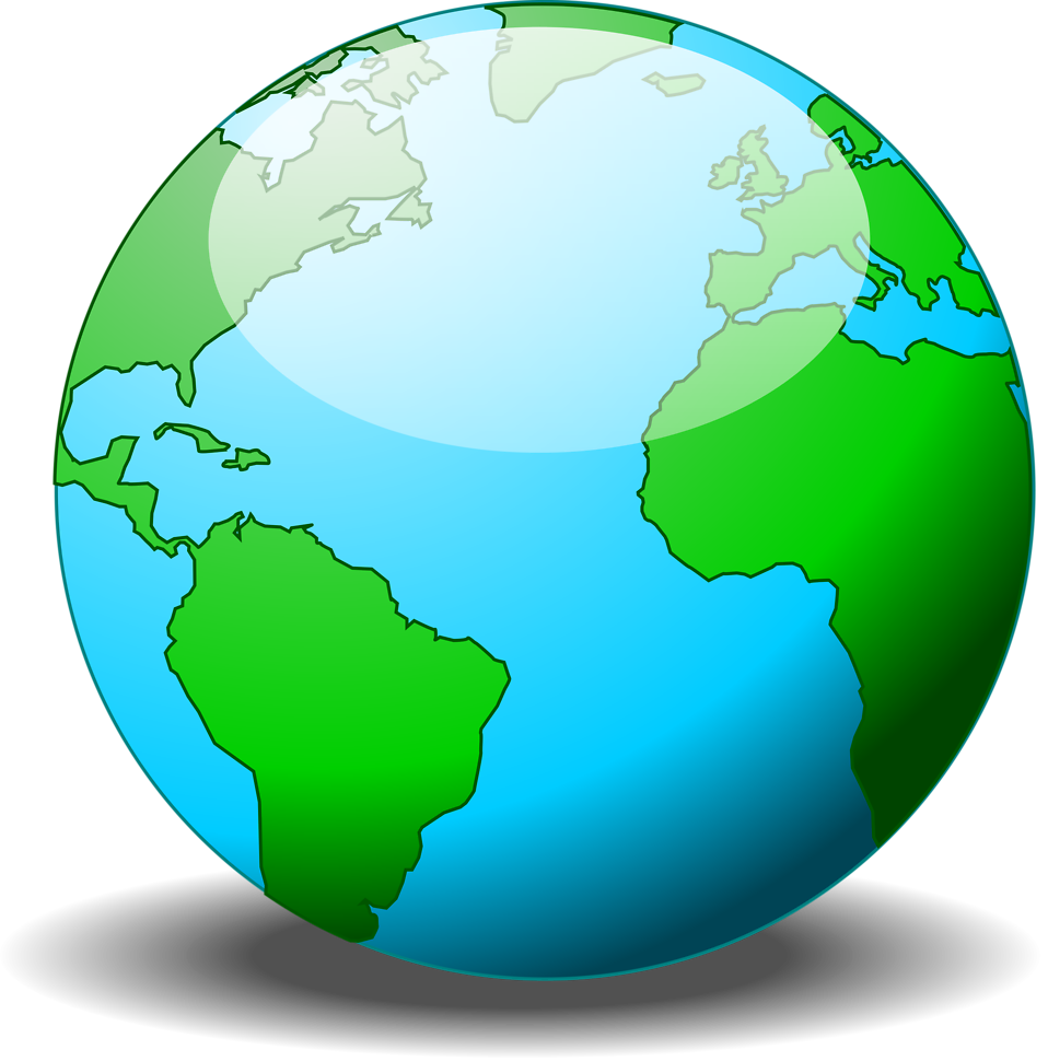 Illustration of a globe : Free Stock Photo