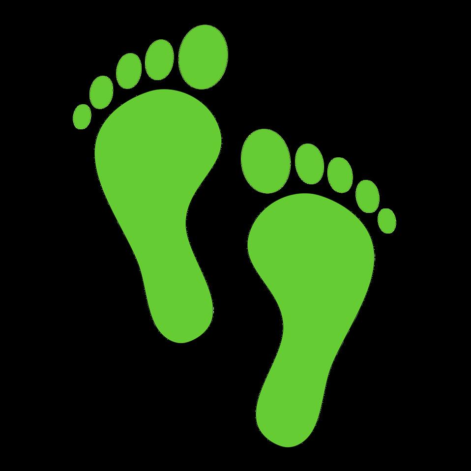 clipart of feet - photo #44