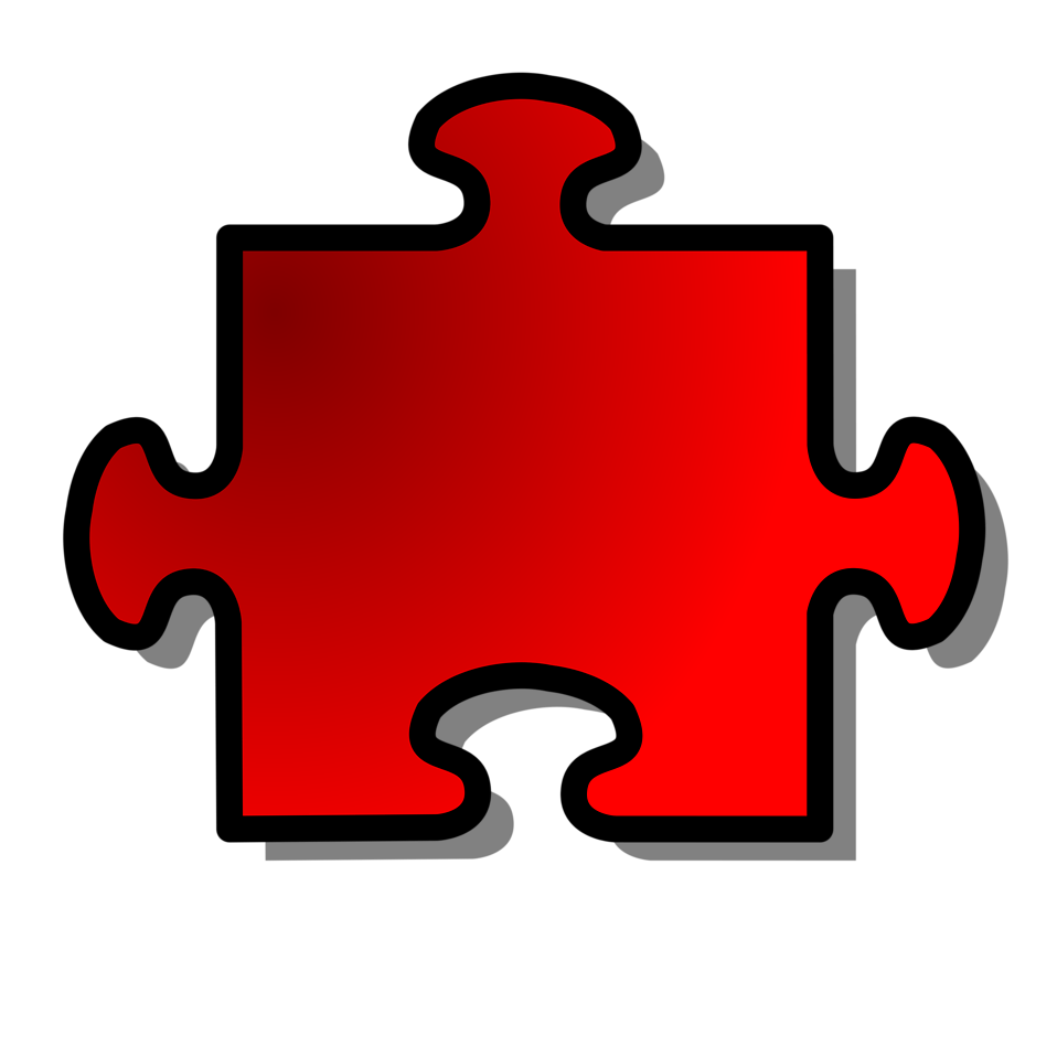 Puzzle Piece | Free Stock Photo | Illustration of a red ...