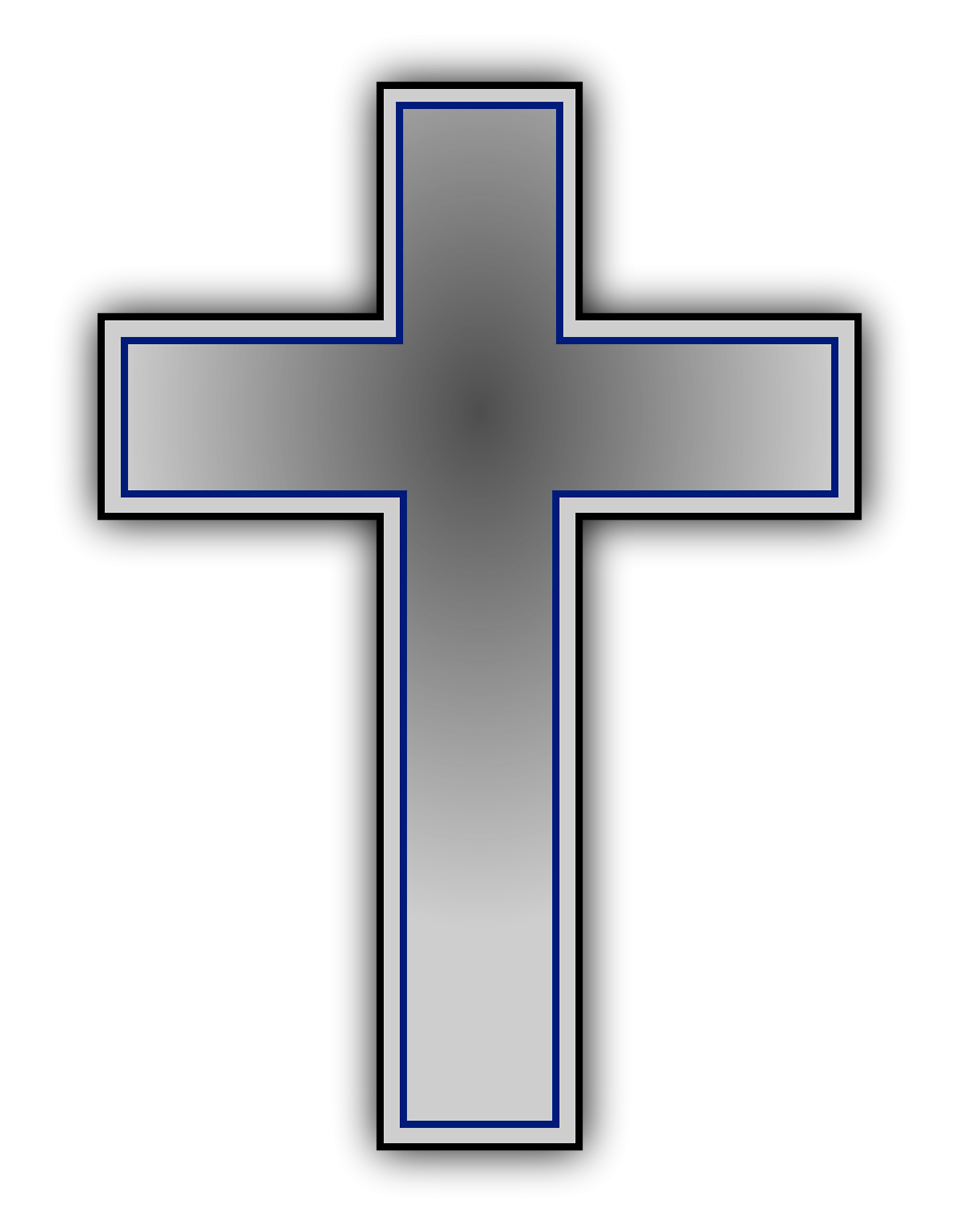Free Stock Photo: Illustration of a cross with a transparent ...