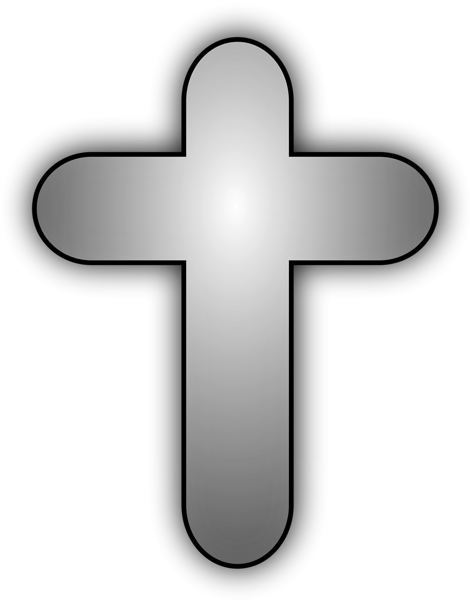 Illustration of a cross : Free Stock Photo