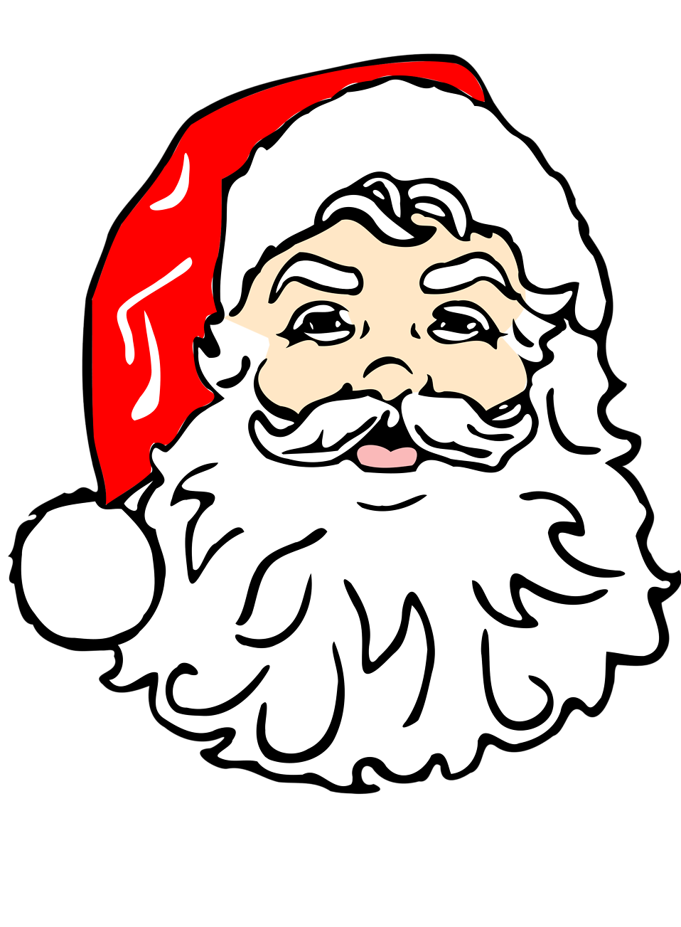 Illustration of Santa Claus : Free Stock Photo