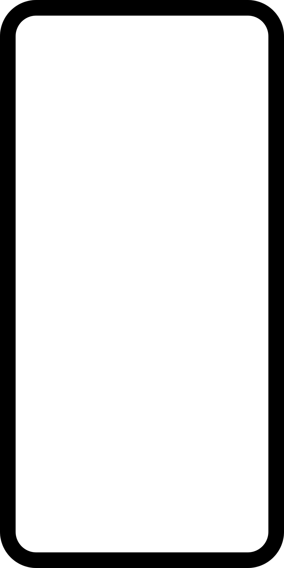 Illustration of a blank domino tile with a transparent background.