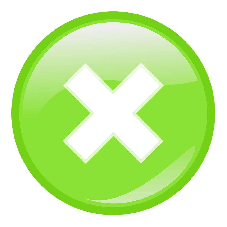 Close button free stock photo illustration of a green - Green button ...